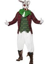 Costume de lapin enragé Halloween Costume Homme
