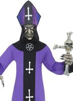 Costume de l'évêque Cour hantée Halloween Costume Homme
