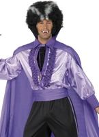 Costume de Dracula Disco Halloween Costume Homme