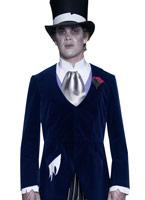 Costume de marié de manoir gothique Halloween Costume Homme