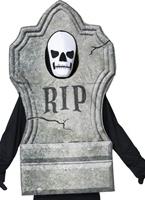 Costume de pierre tombale de manoir gothique Halloween Costume Homme