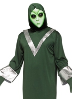 Costume d'Alien Deep Space Halloween Costume Drôle