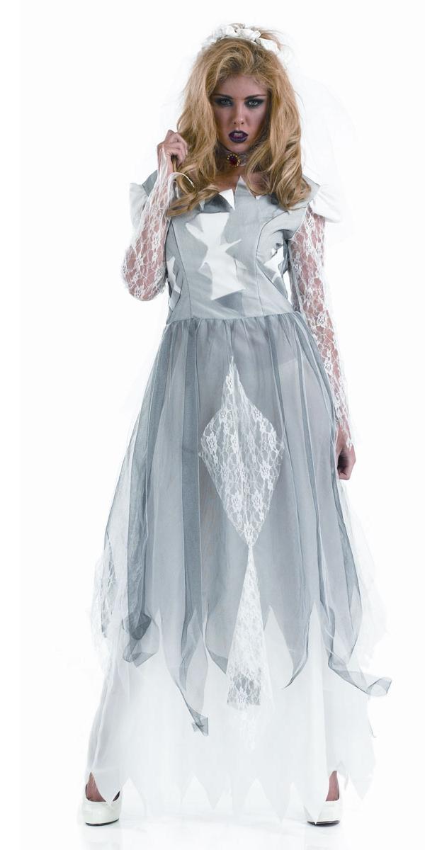 Costume de mari e blanc cadavre halloween costume femme costume halloween 11 07 2018 - Deguisement halloween mariee ...