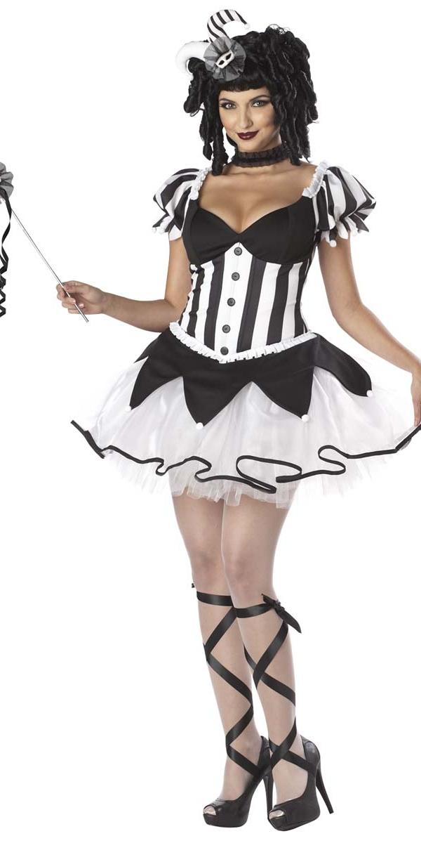 Halloween Costume Femme Rois raviront Costume de bouffon