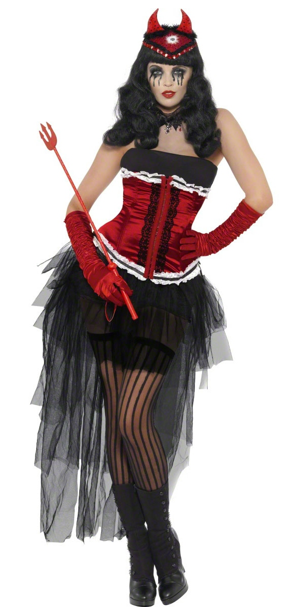 diva demonique costume halloween costume femme costume. Black Bedroom Furniture Sets. Home Design Ideas
