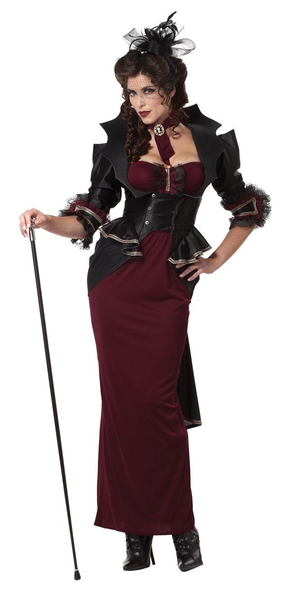 Halloween Costume Femme Dame du Costume Manor