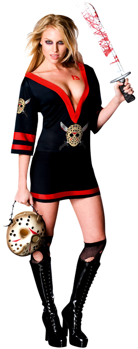 Halloween Costume Femme Mme Voorhees Halloween Costume