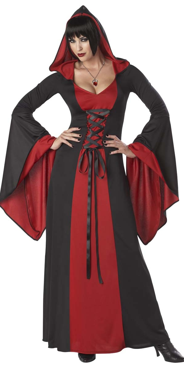 costume deluxe robe capuchon halloween costume femme costume halloween 29 10 2018. Black Bedroom Furniture Sets. Home Design Ideas