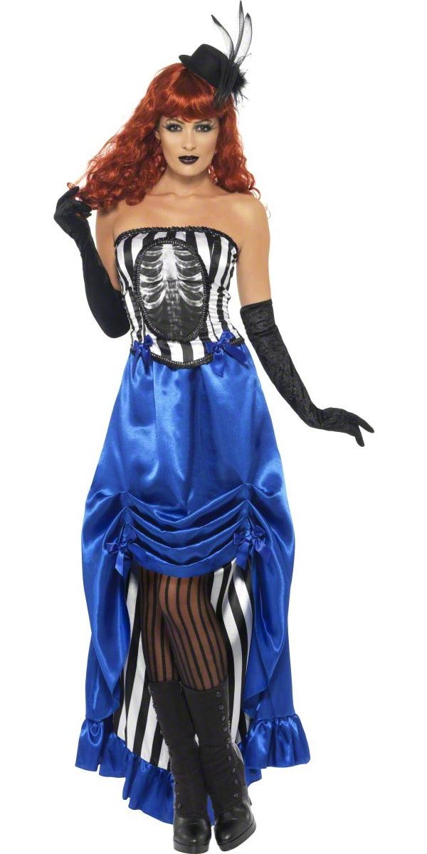 Halloween Costume Femme Grotesque pin-up Burlesque de Costume