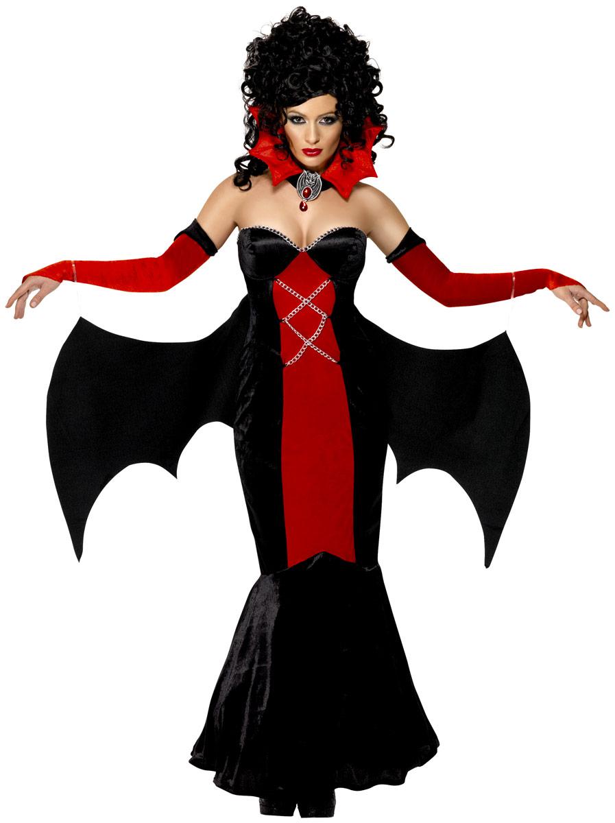 Halloween Costume Femme Mesdames manoir gothique Vampire Costume