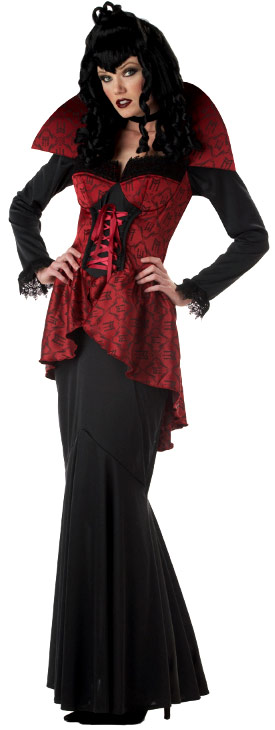 Halloween Costume Femme Costume de soif de sang de comtesse