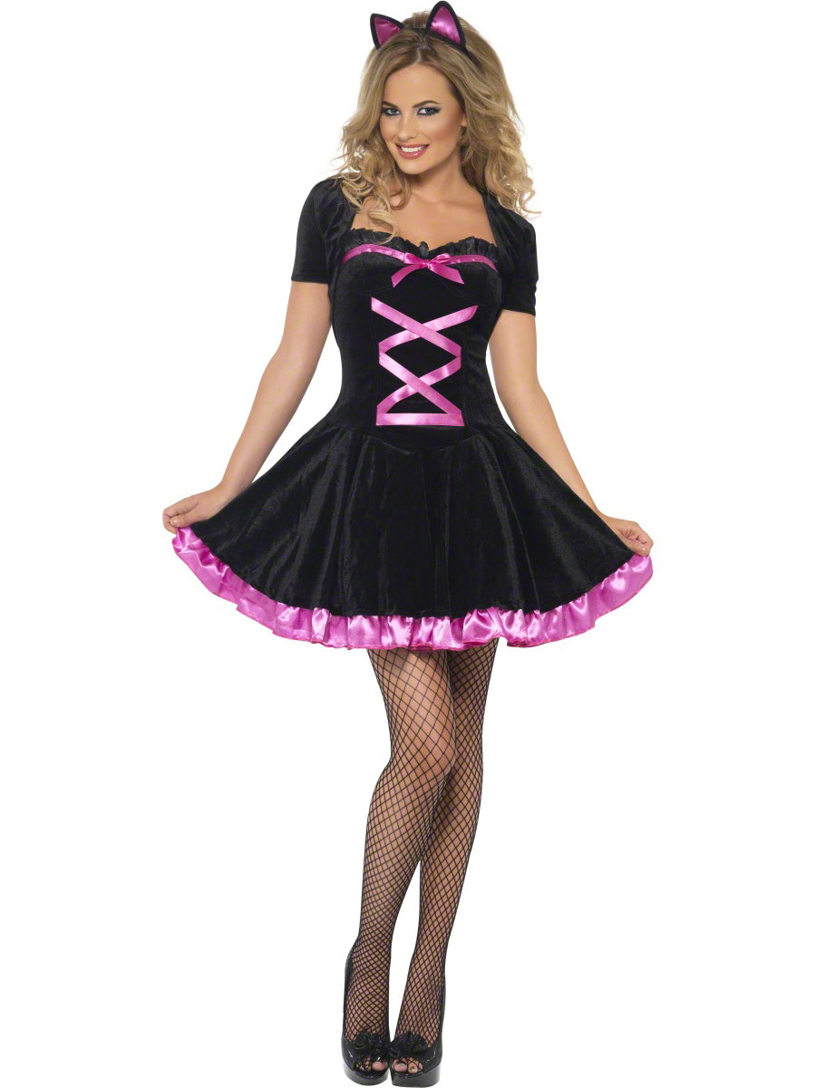 Halloween Costume Femme Fièvre Cutie Kitty Costume