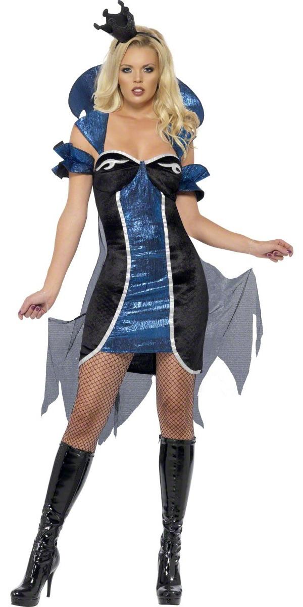Halloween Costume Femme Costume Reine du mal fièvre