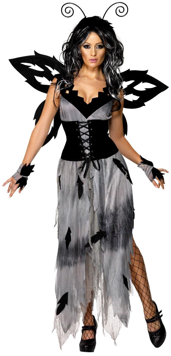 Halloween Costume Femme Costume de fée de forêt sinistre manoir gothique