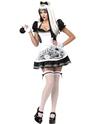 Halloween Costume Femme Sombre Costume d'Alice