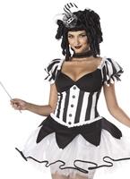 Rois raviront Costume de bouffon Halloween Costume Femme