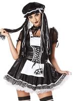 Costume de redoutable poupée Halloween Costume Femme