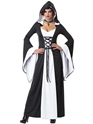 Halloween Costume Femme Costume Deluxe Robe à capuchon