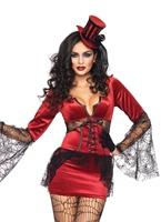 Cou mordre Vamp Halloween Costume Femme