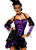 Fièvre séduisante peut pouvez Costume Halloween Costume Femme