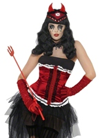Diva Demonique Costume Halloween Costume Femme