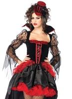 Costume maîtresse de minuit Halloween Costume Femme