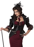 Dame du Costume Manor Halloween Costume Femme