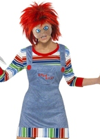 Costume féminin de Chucky Halloween Costume Femme