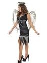 Halloween Costume Femme Sombre Costume d'ange déchu