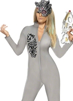 Robotique science-fiction Fantasy Costume Halloween Costume Femme