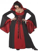 Costume Deluxe Robe à capuchon Halloween Costume Femme