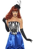 Grotesque pin-up Burlesque de Costume Halloween Costume Femme