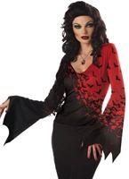 Reine de la nuit Costume Halloween Costume Femme