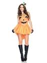 Halloween Costume Femme Costume de princesse citrouille