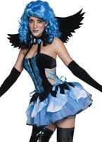 Tainted jardin dévasté par Costume d'ange Halloween Costume Femme