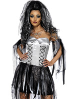 Monster & Costume de mariée momies Halloween Costume Femme