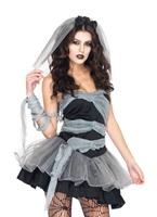 Costume mariée morte & enfouis Halloween Costume Femme