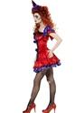 Halloween Costume Femme Cirque sinistre Bo Bo le Costume de Clown