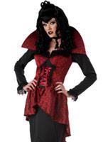 Costume de soif de sang de comtesse Halloween Costume Femme