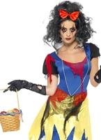 Costume de frayeur de neige Halloween Costume Femme