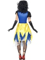 Halloween Costume Femme Costume de frayeur de neige