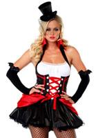 Ravissant Costume de Vampire Halloween Costume Femme