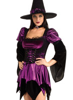Costume sorcière sexy Halloween Costume Femme