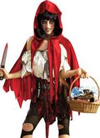 Petit chaperon morts Halloween Costume Femme