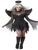 Costume d'ange déchu Halloween Costume Femme