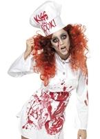 Costume de Chef sanglante Halloween Costume Femme