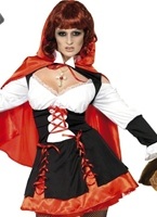 Gothique Red Riding Hood Costume Halloween Costume Femme