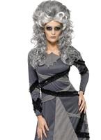Costume de mariée gothique de monstres & momies Halloween Costume Femme
