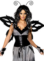 Costume de fée de forêt sinistre manoir gothique Halloween Costume Femme