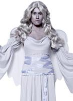 Costume d'ange gothique Manor cimetière Halloween Costume Femme